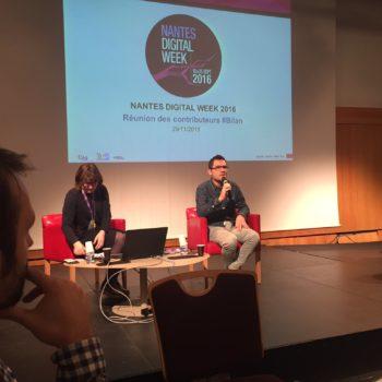 Nantes Digital Week, objectif 2017 !
